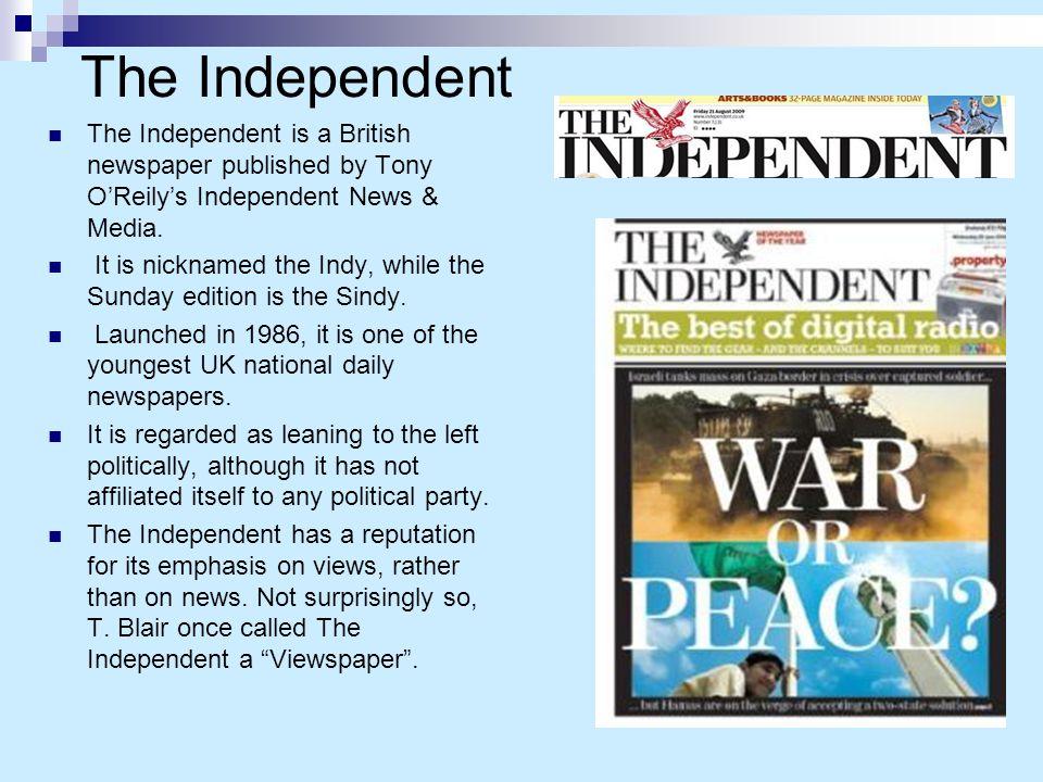independent uk newspaper