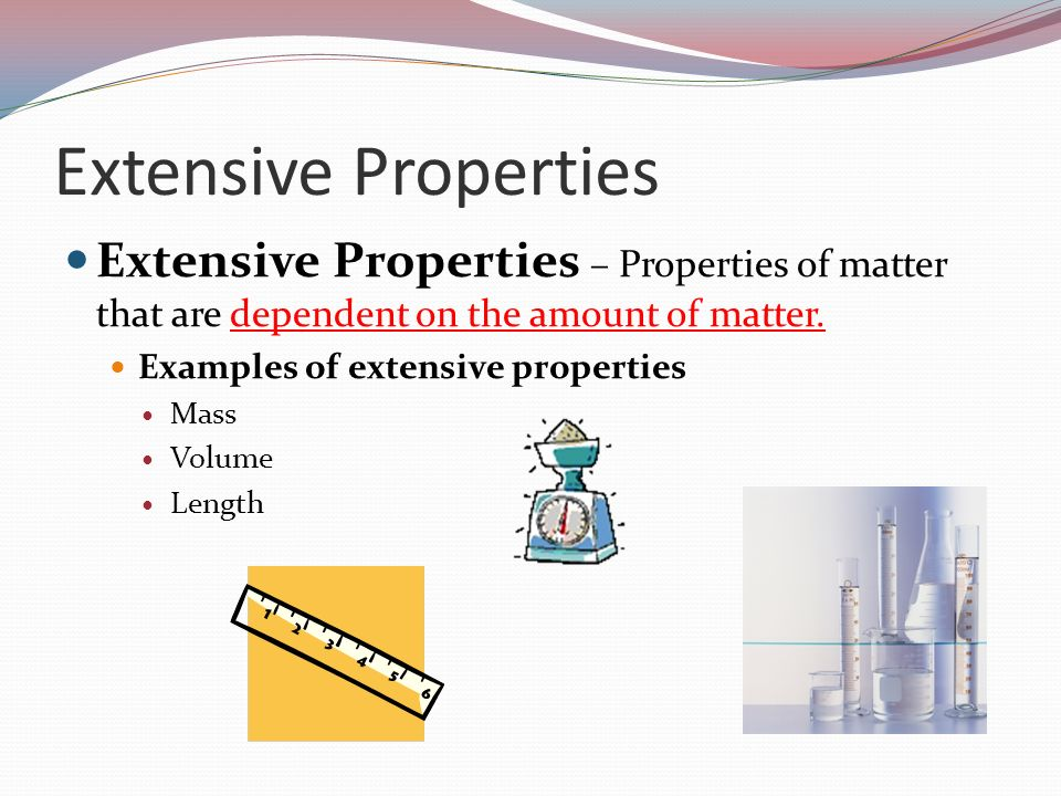 What Is An Example Of Extensive Physical Property