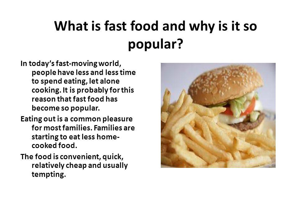 Reasons To Eat Junk Food