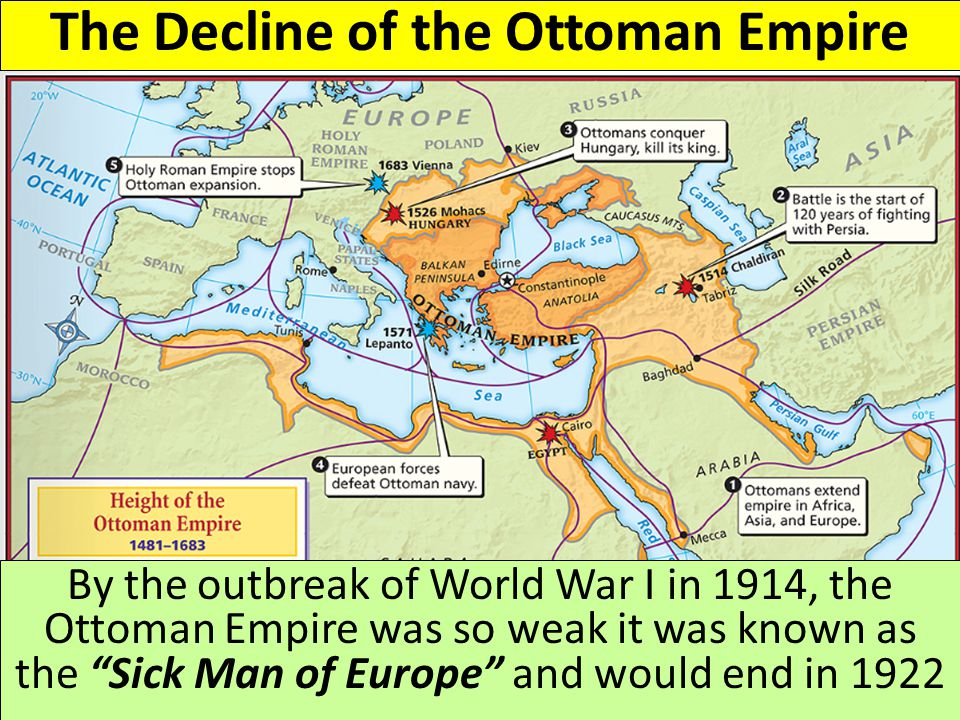 decline ottoman empire thesis The decline of the ottoman empire the decline of the ottoman turks empire despite the interventions to save it has always attracted the attention of historians.