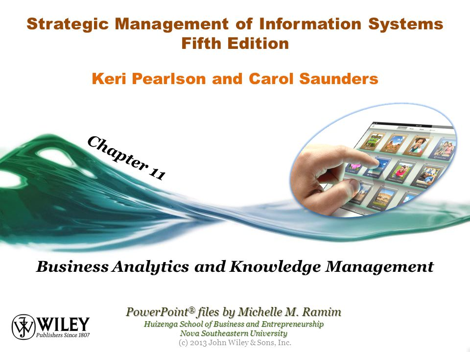 Strategic Management Of Information Systems Fifth Edition Ppt