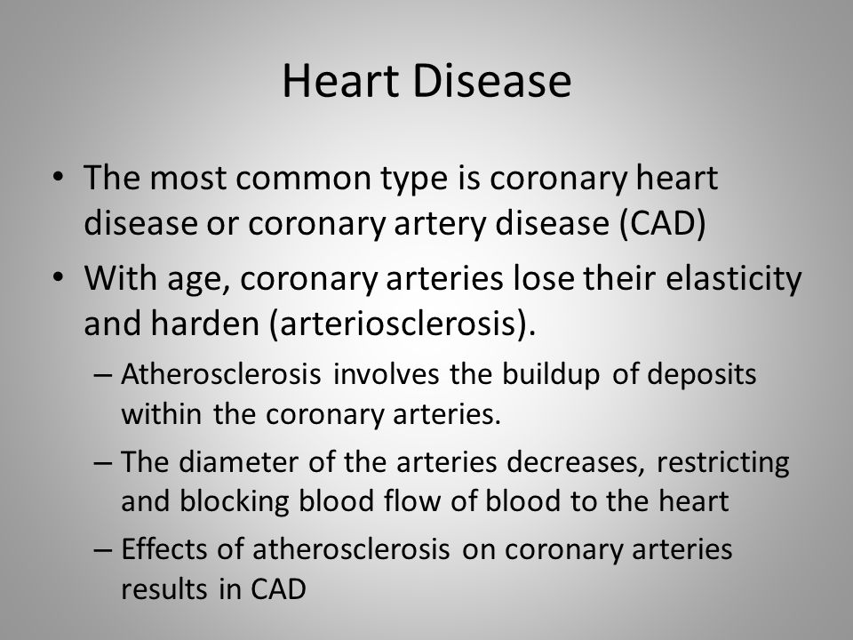 a research on coronary artery disorder a common heart disease Coronary artery disease  common heart diseases and conditions  fluid around the heart is the common description for pericardial effusion the heart is.