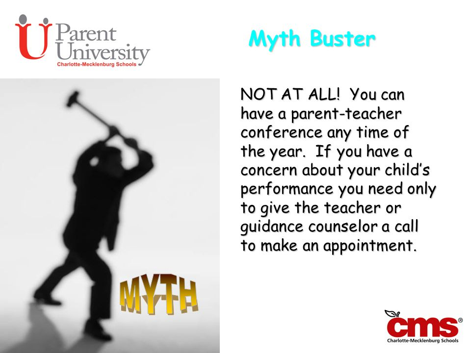 Myth Buster MYTH.