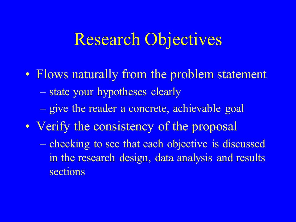 Considerations in Writing a Literature Review