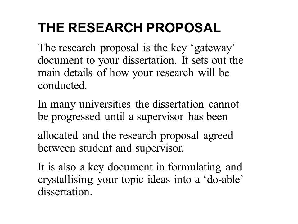 Research Proposal On Economics