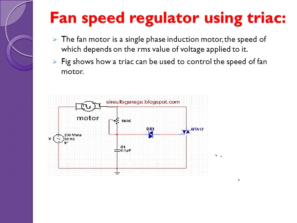 Thyristor application photosensitive control circuits for Speed control of induction motor