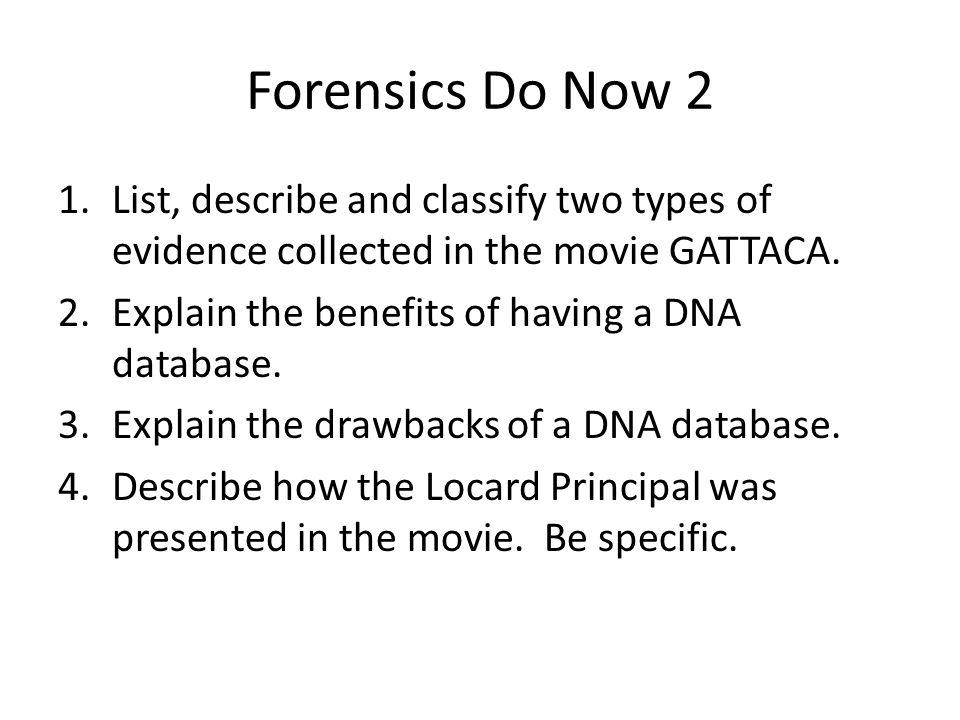 FORENSICS Quarter 1 Do Nows ppt video online download – Gattaca Movie Worksheet
