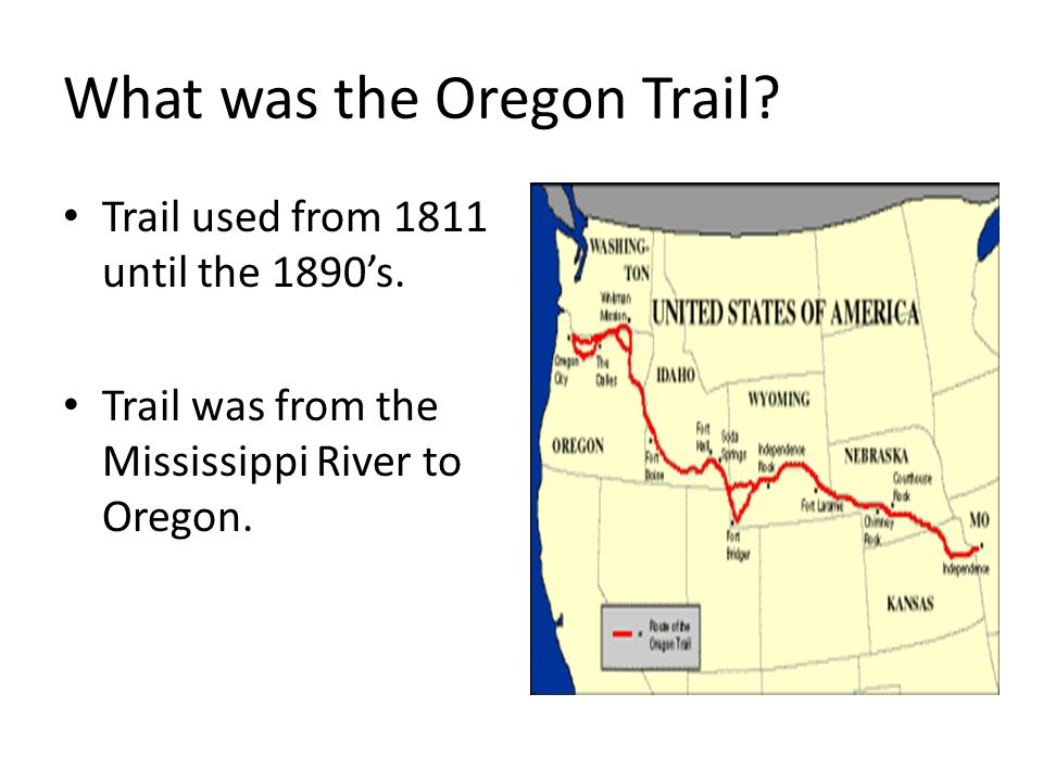 importance of oregon trail Fantastic facts about the oregon trail weird wagons including a wind-powered wagon oregon = wisconsin a very confused travel planner $100 for a drink of water how much would you pay buried alive it happened at least it could have.