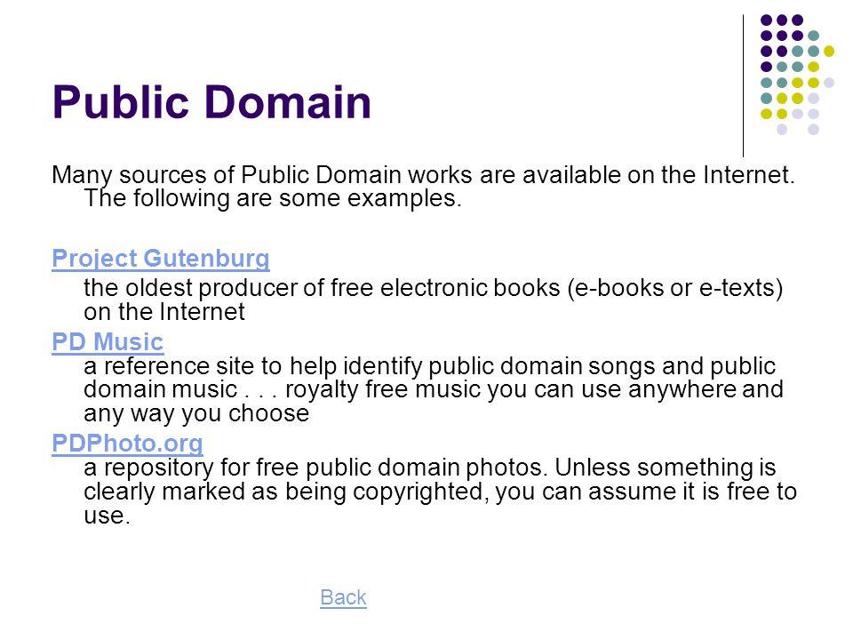 49 Public Domain Many sources ...