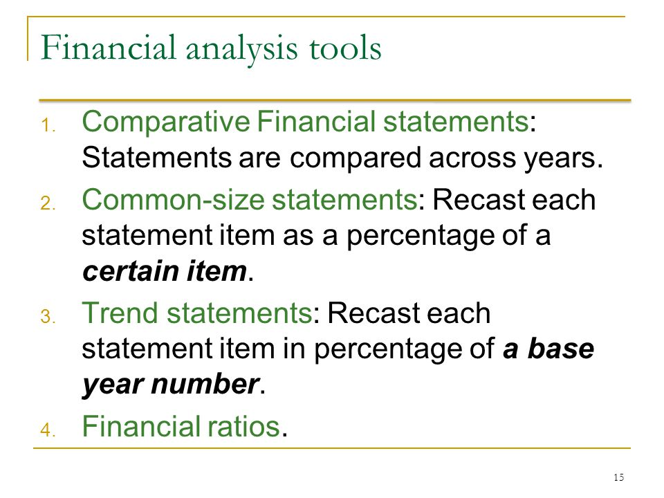 an analysis of financial statement Learn what it means to do your homework on a company's performance and reporting practices before investing.
