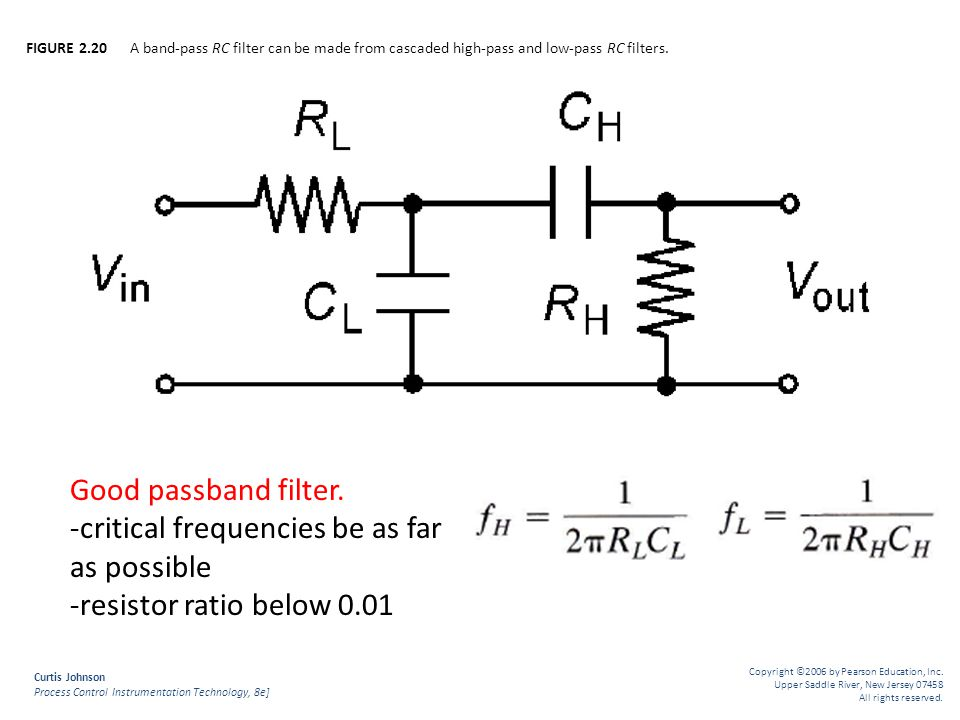 -critical frequencies be as far as possible -resistor ratio below 0.01