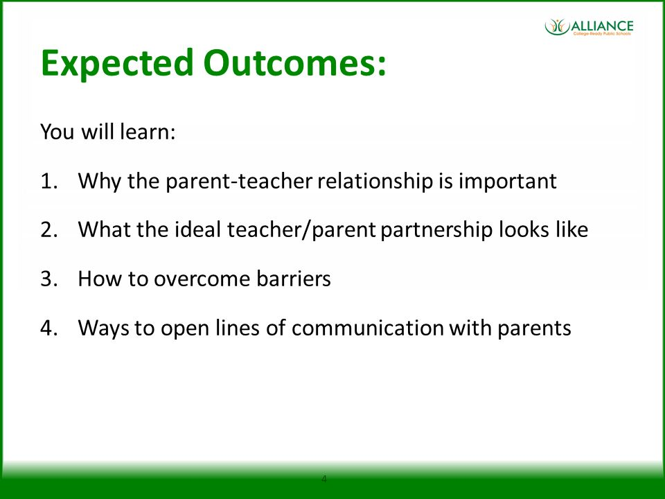 Expected Outcomes: You will learn: