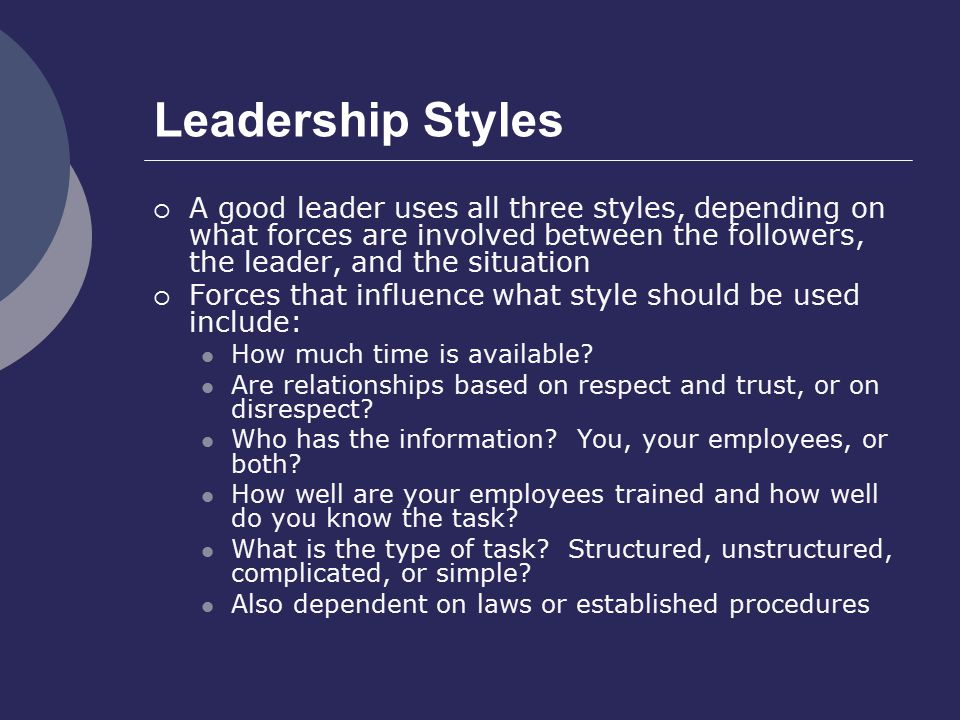 evaluate the strengths and weaknesses of established leadership styles In general, there are some strengths and weaknesses you should – and shouldn't – mention during a job interview examples of strengths for interviews : includes analytical , communication , and leadership skills , as well as the ability to collaborate and work as a team .