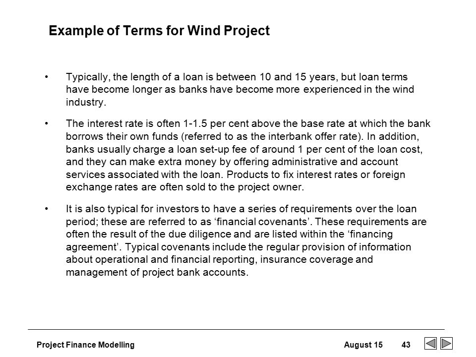 Financial structuring ppt download example of terms for wind project thecheapjerseys Gallery