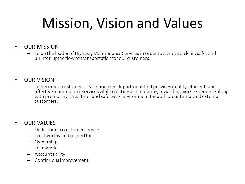 Maintenance Department Strategic Plan Ppt Video Online