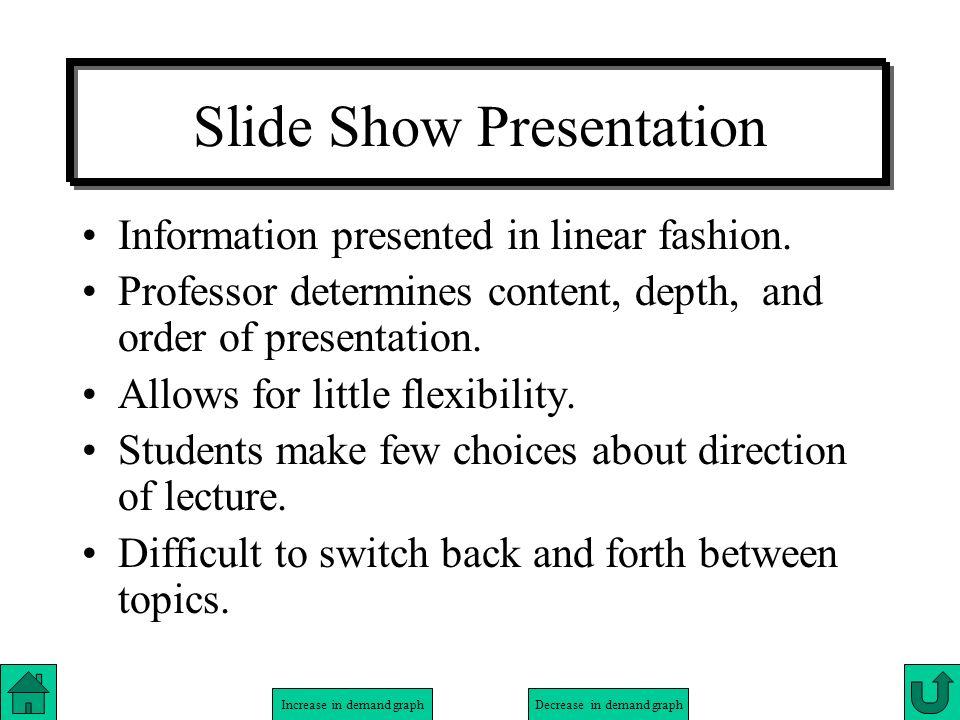 Slide Show Presentation