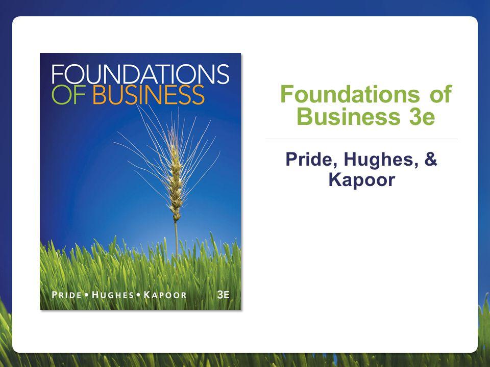 Foundations of Business 3e