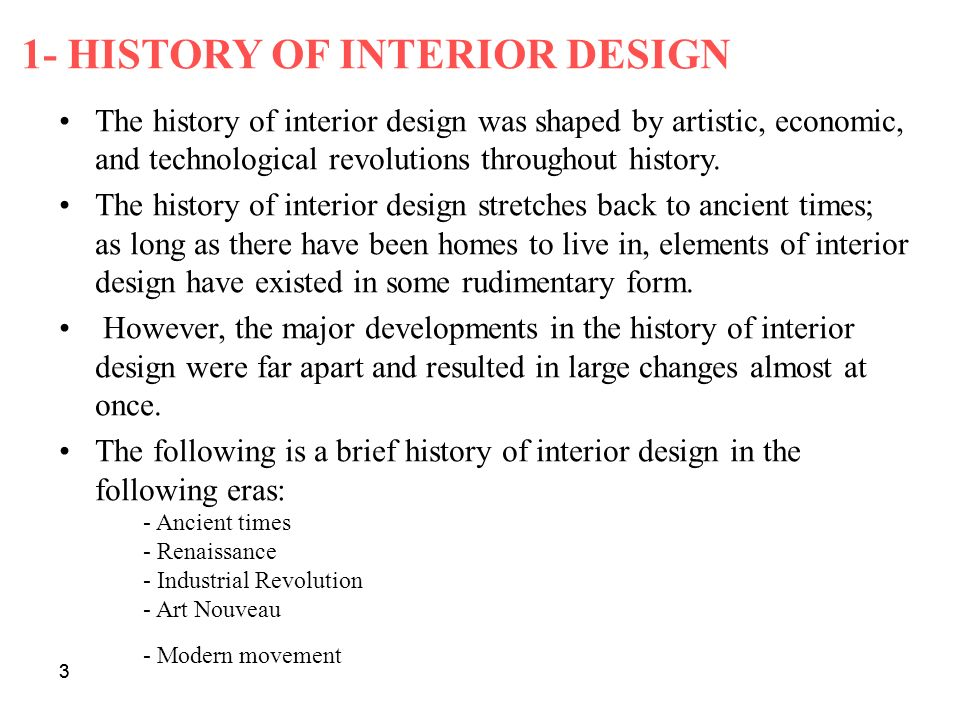 90 Interior Design Movements History Infographic