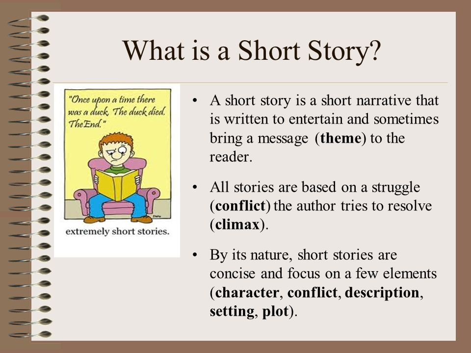 Short story essay ideas