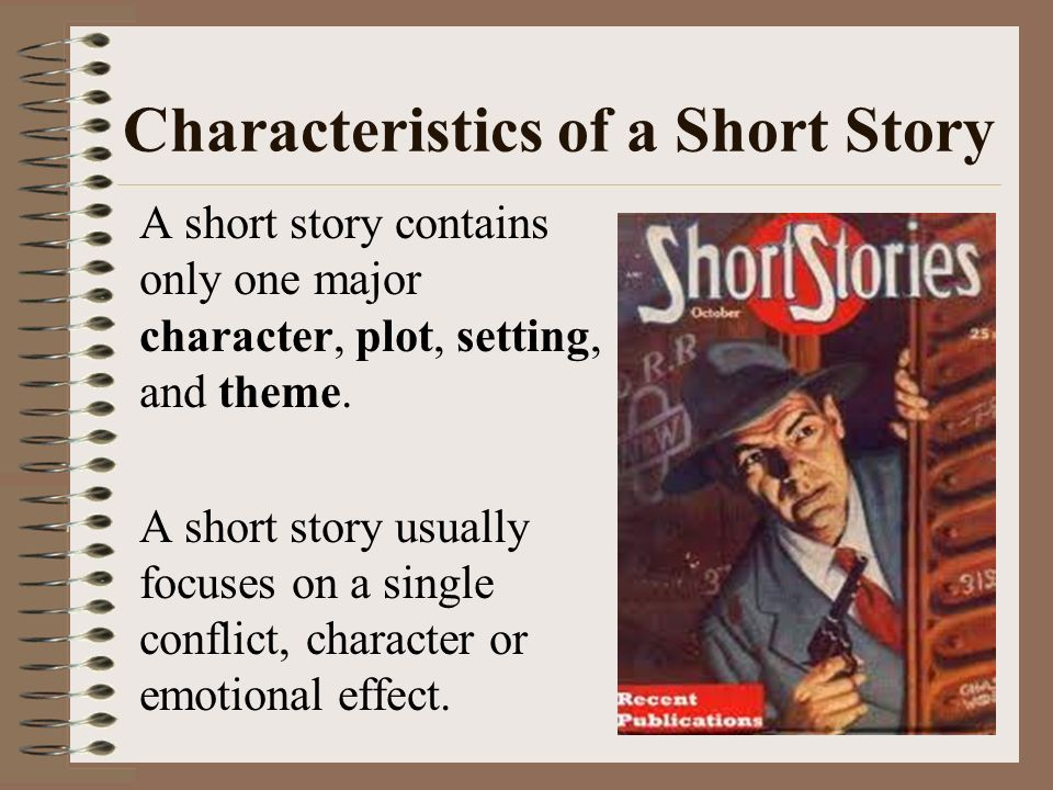 what is a short story A short story typically takes the form of a brief fictional work, usually written in prose the earliest precursors to the short story can be found in the oral storytelling tradition, as well as .