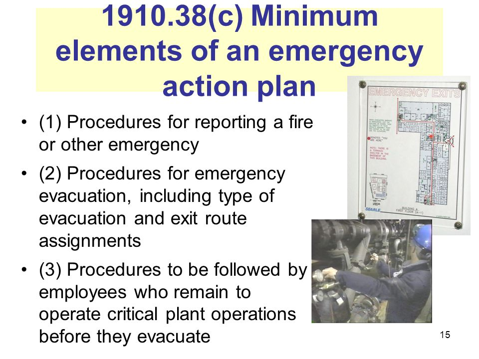 Emergency Action Plans  Ppt Video Online Download