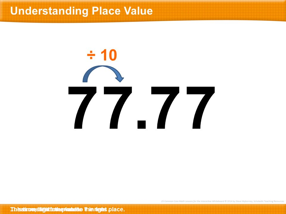 Understanding Place Value - ppt download