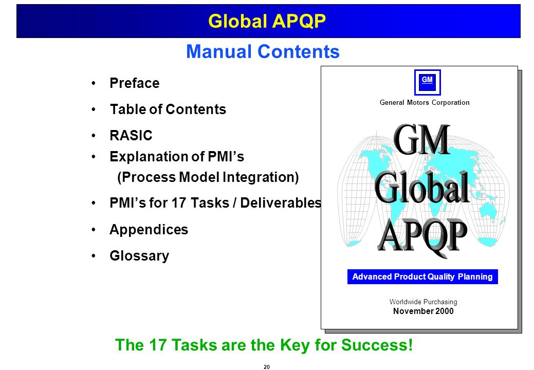 general motors corporation performance assessment Of the general motor function assessment scale (gmf) - a performance-based  measure of function-related dependence, pain and insecurity disabil  which  the care provided by others is co-ordinated and supervised and.