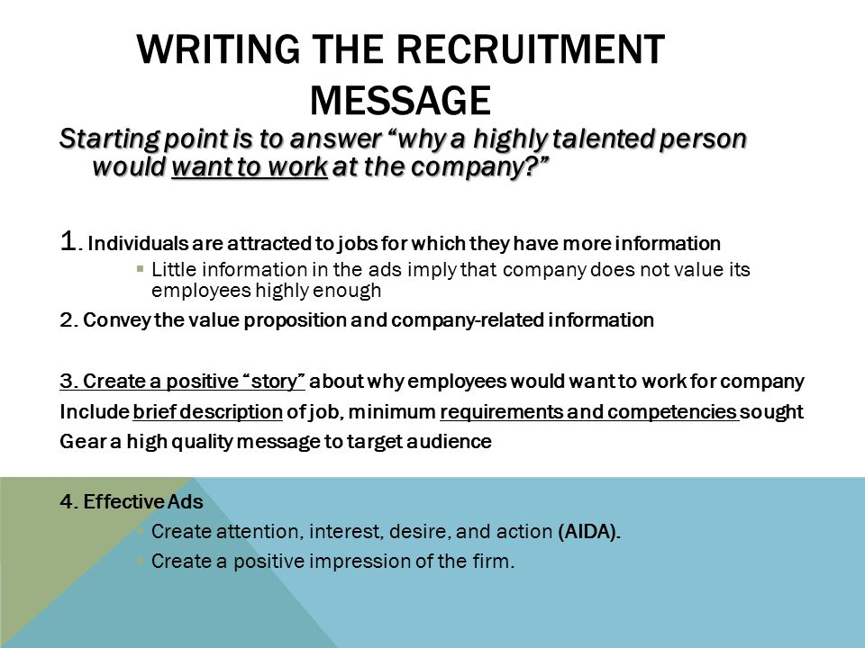 4 20 2017 Recruitment Friday Ppt Video Online Download