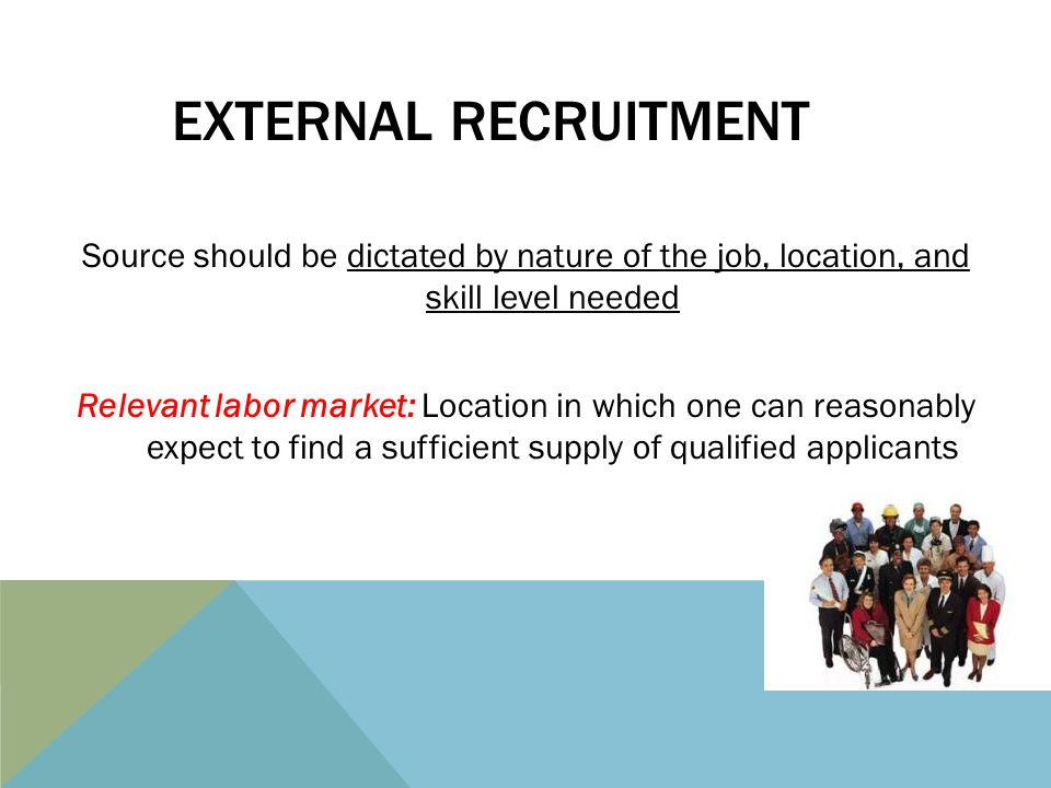 recruiting in labor markets Recruiting patterns and the functioning of labor markets f theodore malm in recent decades, there has been a.