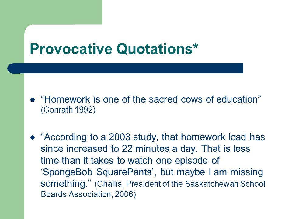 research homework effectiveness