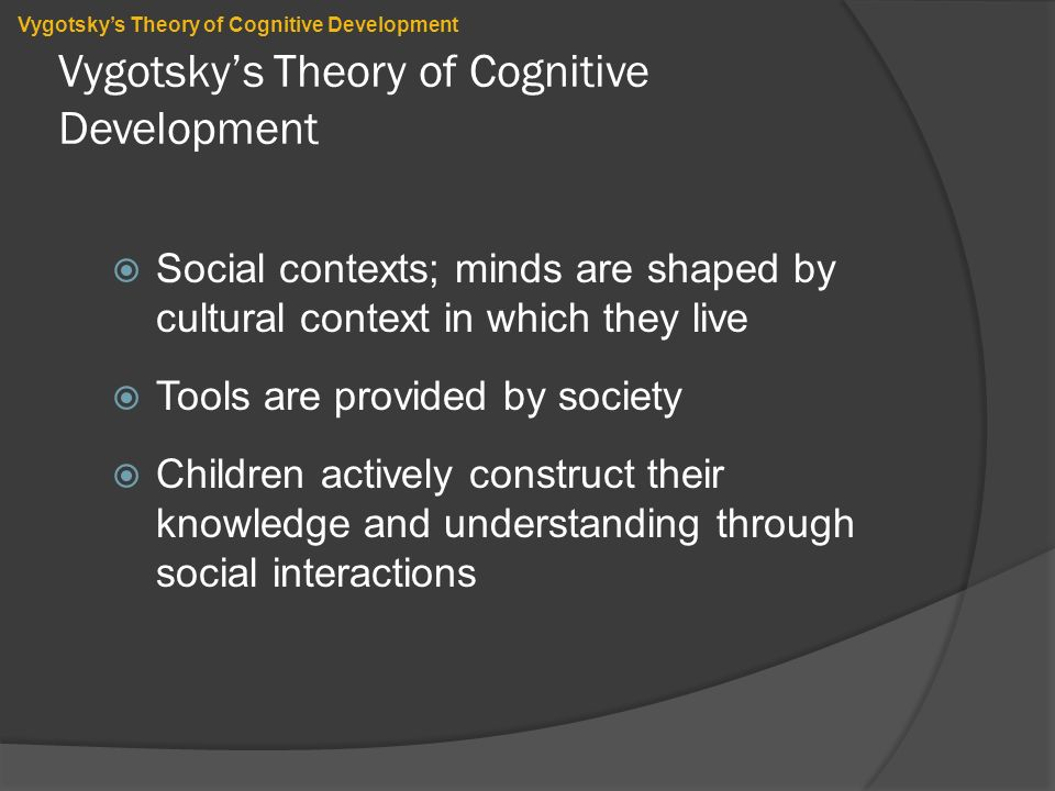 the similarities and differences between vygotskys theory of social development and the chaos theory This essay will evaluate the similarities and differences between the theories proposed by piaget and vygotsky in children's cognitive development piaget and vygotsky agreed that children don't just absorb experiences but actively construct their own knowledge of the world piaget regarded children's cognitive development mainly in a biological.