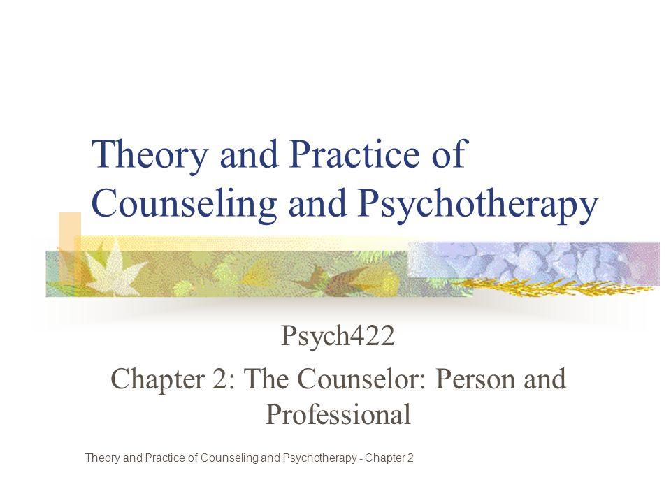 practice counselor