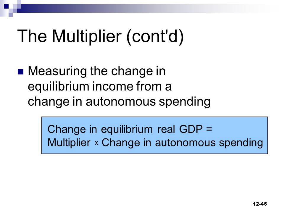 autonomous spending multiplier In economics, the marginal propensity to consume (mpc) is a metric that quantifies induced consumption, the concept that the increase in personal consumer spending (consumption) occurs with an increase in disposable income (income after taxes and transfers) the proportion of disposable income which individuals spend on consumption is known as.