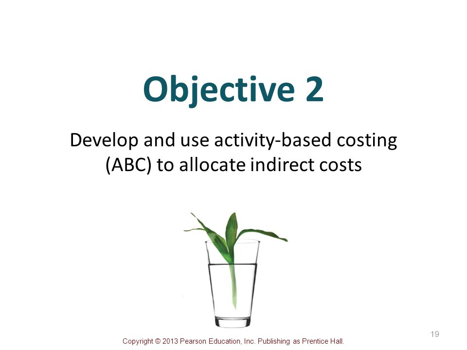 siemens cost and activity based costing objectives Activity-based costing traditional cost systems usually rely on volume measures such as direct labor hours and/or machine learning objective 3 7-24 compute activity rates for cost pools calculate activity rates 7-25.