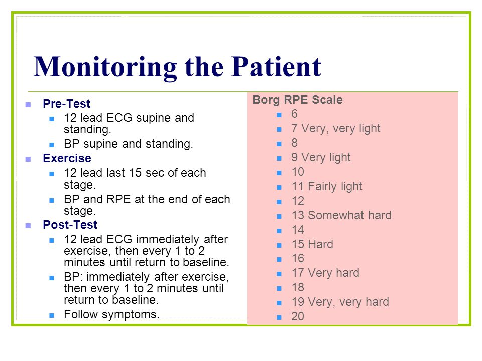 exercise ecg testing and monitoring pdf