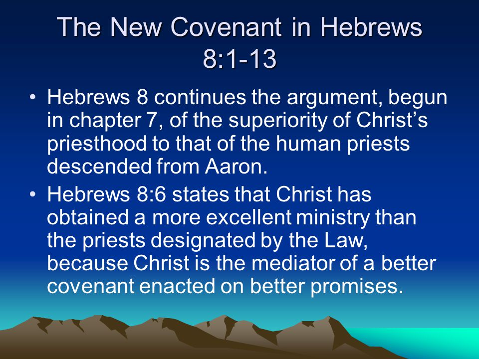 The New Covenant in the New Testament – Part II - ppt ...