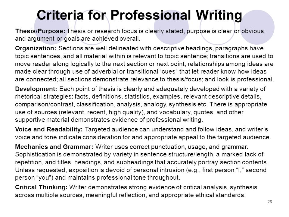 professional writing audience profile Video: audience profile: and how to market to that audience for example, when writing an article professional development.