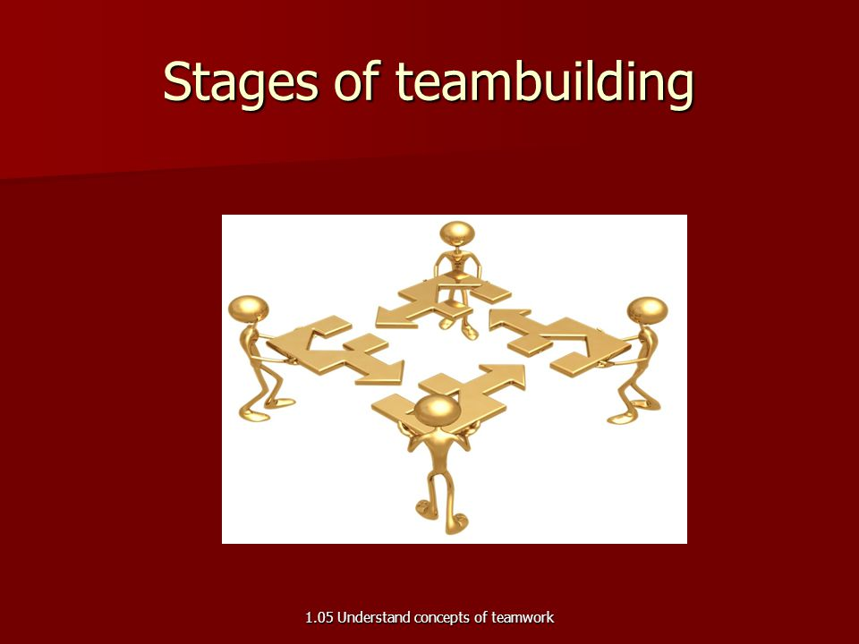 Stages of teambuilding