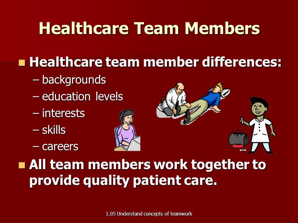 Healthcare Team Members