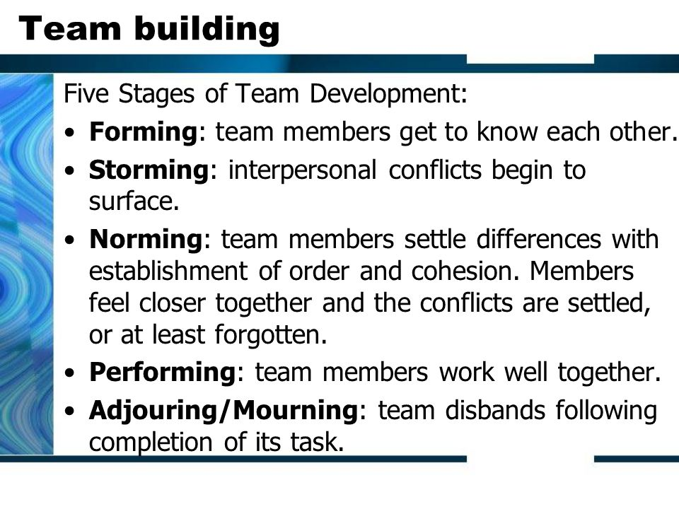 Team Development - Meaning, Stages and Forming an Effective Team