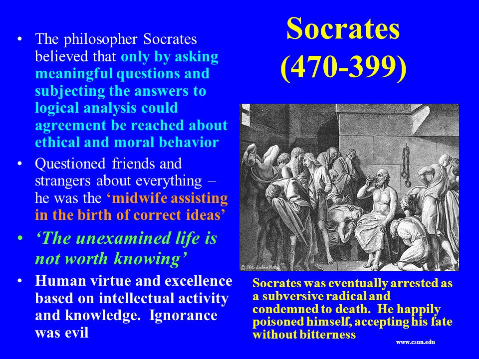 socrates on death