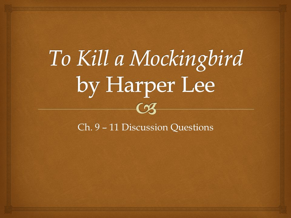 an analysis of the symbolism used in harper lees novel to kill mockingbird