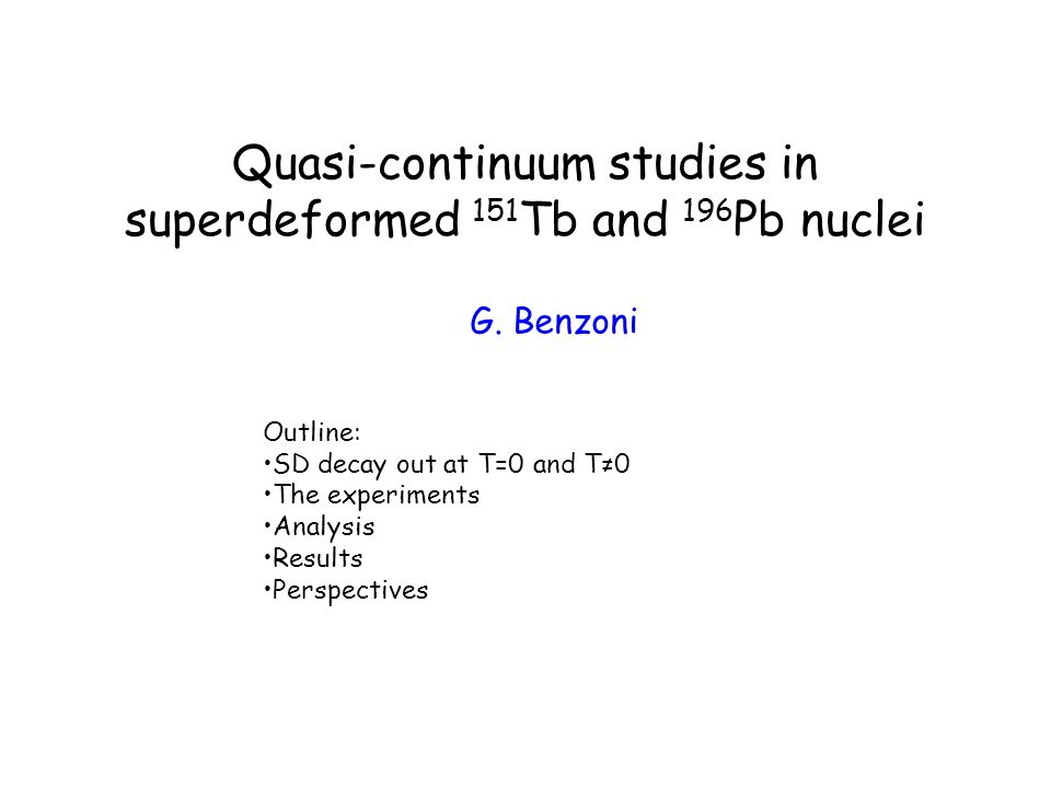 Quasi-continuum studies in superdeformed 151Tb and 196Pb nuclei