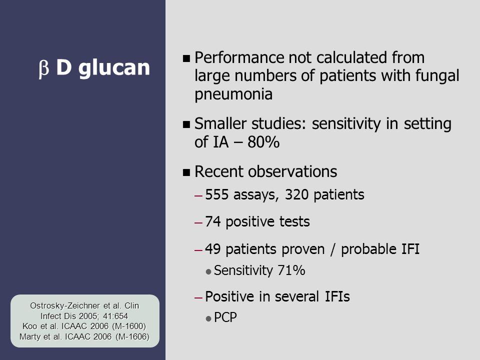 Ostrosky-Zeichner et al. Clin Infect Dis 2005; 41:654