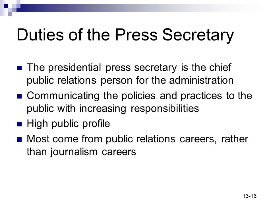 press and government relationship