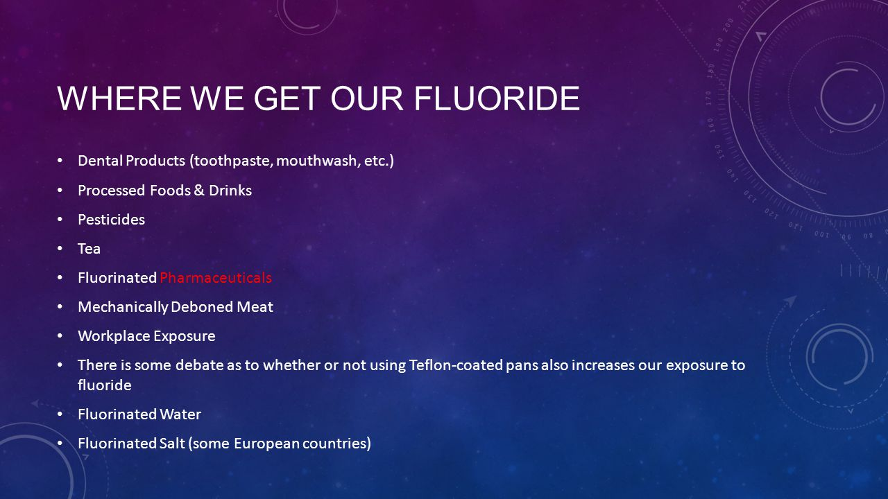 how to get rid of fluoride in water