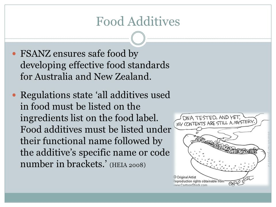 Australia New Zealand Food Standards Code