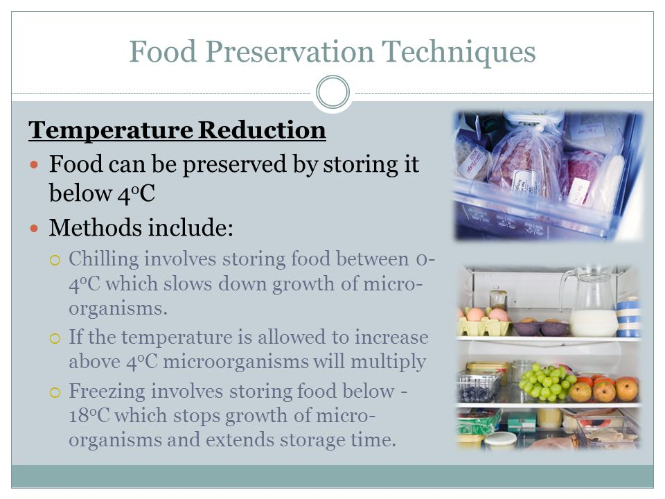 Storage Methods Can Affect The Nutritional Value Of Food