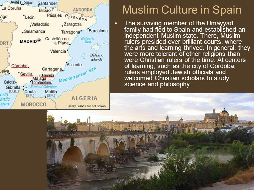 muslim empire in spain Granada – the last muslim kingdom of spain posted on 1 january the constant infighting among muslims, the lack of support from other muslim empires.