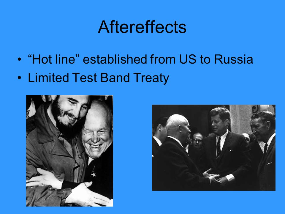 Aftereffects Hot line established from US to Russia